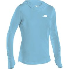 The Pelagic UltraTek Hooded Sunshirt was specifically designed for women who love to fish, spend time on the water, and also want to look good while they're . Hooded Long Sleeve Shirt, Long Sleeve Shirts, Sun Shirt, Womens Flip Flops, Fishing Shirts, Sleeve Styles, Colorful Shirts, Hoods, Pullover