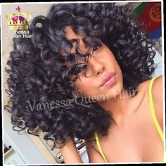 42.30$  Watch now - http://alieun.worldwells.pw/go.php?t=32346796950 - Free Shipping kinky afro curly with bangs black ombre bob hair heat resistant glueless synthetic lace front wigs for balck women