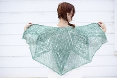 Borealis Shawl pattern by Cal Patch (crochet, wraps) ——— featured in http://fringeassociation.com/2013/01/28/new-favorites-borealis/