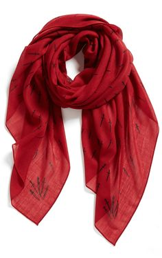 Yes, to scarves for fall.