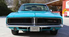 Bright Turquoise 1969 Dodge Charger R/T Review