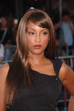Trina McGee (Angela, Boy Meets World)---If I ever dye my whole head a color, it will be this color.