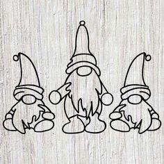 Fur Leg Warmer Gnome -- Christmas Gnome -- Holiday Gnome -- Christmas Decor -- Candy Cane Gnome -- Gifts for mom, teacher - hamburg Christmas Gnome, Scandinavian Christmas, Modern Christmas, Christmas Crafts, Christmas Holidays, Scandinavian Gnomes, Christmas Drawing, Christmas Sketch, Wood Burning Patterns