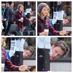 "That guy be like ""hold up is that t swift?!"" hahahahaha oooh mannn... ;)"