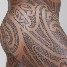 Perforation patterns: The detail is incredible. This Moko peha was completed by Kipa in Taranaki in 2009