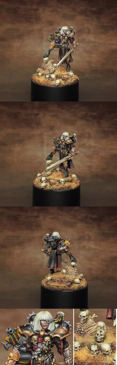 Cannoness Viridian painted by Vardek Sci Fi Miniatures, Figs, Sisters, Game, Store, Vehicles, Inspiration, Painting, Ideas