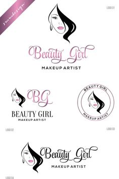 Abstract Woman Face With Closed Eye Trace Of Lipstick Makeup Artist Logo Vector Illustration Make Up Card Utaway