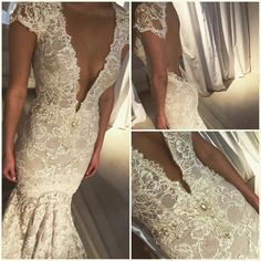 BERTA beauty from our New Orleans trunk show at Blanc Bridal Couture <3