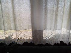 Bordados & Crochet- Sua História: Cortina com crochet