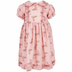 Rachel Riley Girls Deer tea dress with bloomers, $138