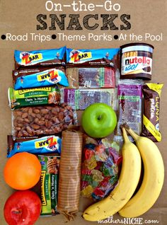 The snack is a topic that is talking about nutrition. Is it really necessary to have a snack? A snack is not a bad choice, but you have to know how to choose it properly. The snack must provide both… Continue Reading → Lunch Snacks, Snacks Road Trip, Snacks Für Die Party, Vacation Snacks, Healthy Travel Snacks, Road Trip Meals, Vacation Ideas, Kid Lunches, School Lunches