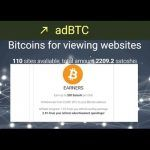 adBTC  Earn Bitcoin for viewing websites
