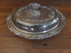 English silver corp oval covered dish- silverplate #Englishsilvercorp $13.99