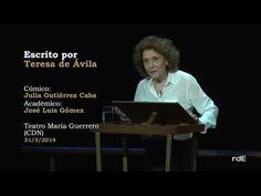 Escrito por Teresa de Ávila-Cómicos de la Lengua-R.A.E. - YouTube