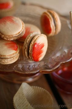 Cayenne pepper macaroons