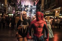 Date night - Las Vegas Halloween parade 2017 at Fremont Street, by Juan Cardenas