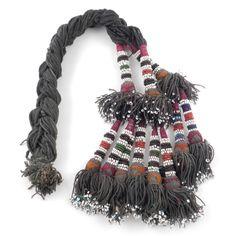 Vintage Set of Turkoman Tribal Tassels : Origin Turkoman - - Authentic Tribal Jewelry & Textiles