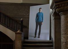 John Smedley SS14 at LC:M #knitwear #sportswear