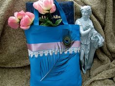 MOB  MOG Peacock Feathered Tote  Bridesmaids by ABridesEyeView, perfect for so many women.