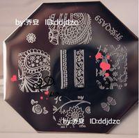 QA New Design  10 pieces/lot   Stamping Nail Plates   Nail Art Tool  QA59