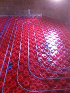 Under-floor Heating for Solid floor (before screeding)