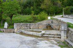 Church and Fountain of San Cataldo. Villas In Italy, Fountain, San, Patio, Outdoor Decor, Home Decor, Decoration Home, Room Decor, Water Fountains