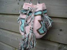 crochet bolsa patrón wayuu - Buscar con Google