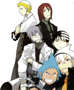 Justin, Spirit, Stein, Kid, Soul and Black Star