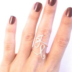 double initial rings!