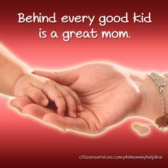 I Love you Mommy. Behind every good kid is a great mom. Mothers Day Post, Happy Mothers Day, I Love You, My Love, Cool Kids, Mom, Te Amo, Message For Mothers Day, Je T'aime