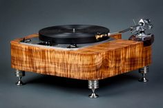 Garrard 301 turntable with stunning custom plinth