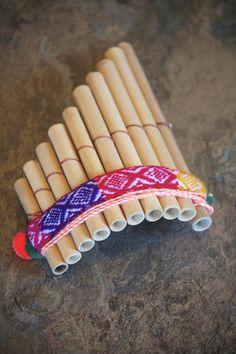 Peruvian Handmade professional <b>15</b> key <b>Pan Flute</b> tuned to C (Do ...