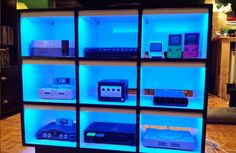show off all your gaming consoles in style
