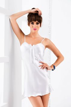 ec25858a877 Irall Aria Nightdress White from Naughty Dorothy Bridal Lingerie