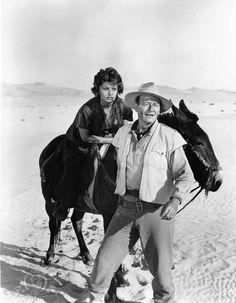 LEGEND OF THE LOST - John Wayne & Sophia Loren