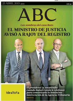 Diario ABC de 23 Abril 2015 y recordamos que pueden visualizar cada día los principales titulares en http://www.youtube.com/vendopor