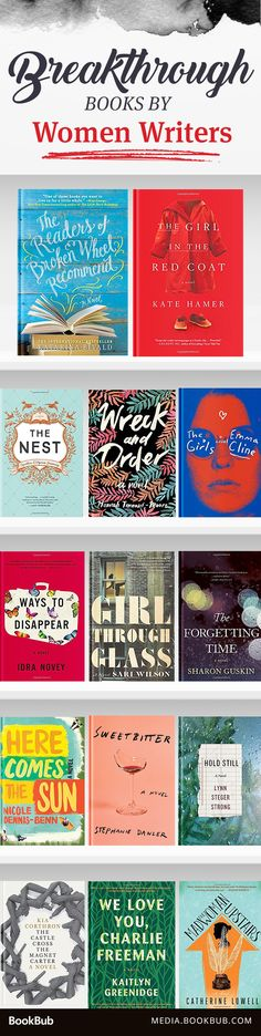15 breakthrough books worth a read from female writers.