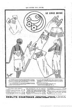La Mode du jour -- 1925-08-27 -- periodiques