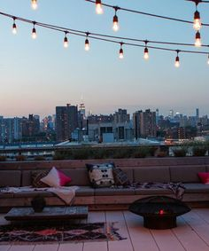 Where you can find the dreamiest rooftop in NYC