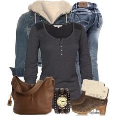 Casual outfit minus the boots and jacket Winter Outfit For Teen Girls, Casual Winter Outfits, Fall Outfits, Cute Outfits, Fashion Outfits, Womens Fashion, Fashion And Beauty Tips, Dress To Impress, Autumn Winter Fashion