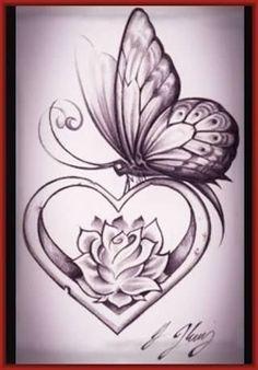 Resultado de imagen para dibujos de amor a lapiz faciles de copiar