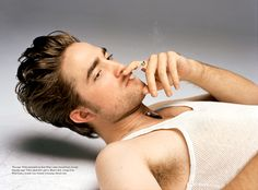 Robert Pattison...i wish i was that square