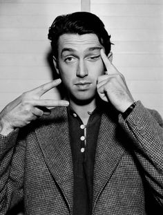 Jimmy Stewart - way better looking than I usually give him credit for....
