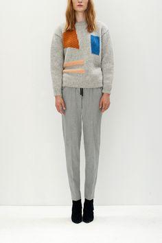 Nanushka Store - RAMA - Intarsia geometric SWL sweater