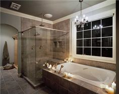 Romantic Traditional Bathroom by Amy Conner-Murphy on HomePortfolio