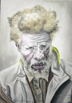 "Saatchi Art Artist Maudy Alferink; Painting, ""Albert Deejay"" #art"