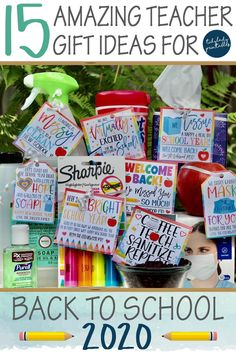 School Supplies For Teachers, Back To School Gifts For Teachers, First Year Teachers, Teacher Supplies, Cute Teacher Gifts, Teacher Appreciation Week, Student Gifts, Hand Sanitizer, Schools