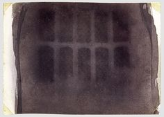 William Henry Fox Talbot The Oriel Window, South Gallery, Lacock Abbey, 1835 or drawing negative 3 x 4 in. x cm), irregular Invention Of Photography, History Of Photography, Dark Photography, Vintage Photography, Henry Fox Talbot, British Inventors, Camera Obscura, Make Pictures, Daguerreotype