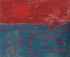 Milton Avery | Dawning Sun (1962)