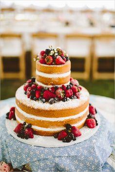 #nakedcake #weddingcake @weddingchicks